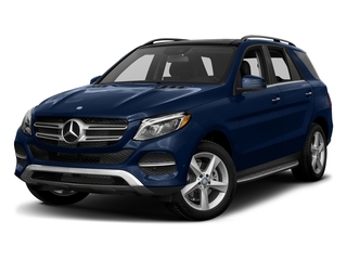 Brilliant Blue Metallic 2017 Mercedes-Benz GLE Pictures GLE Utility 4D GLE300 AWD I4 Diesel photos front view