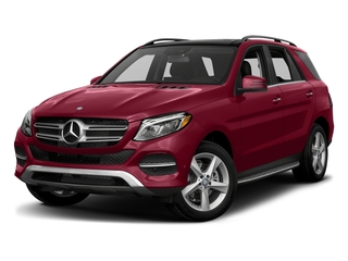 designo Cardinal Red Metallic 2017 Mercedes-Benz GLE Pictures GLE Utility 4D GLE300 AWD I4 Diesel photos front view