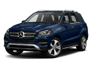 Brilliant Blue Metallic 2017 Mercedes-Benz GLE Pictures GLE GLE 350 4MATIC SUV photos front view
