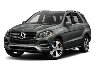Selenite Grey Metallic 2017 Mercedes-Benz GLE Pictures GLE GLE 350 4MATIC SUV photos front view