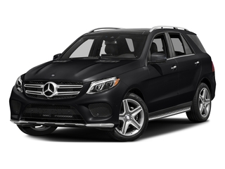 Black 2017 Mercedes-Benz GLE Pictures GLE Utility 4D GLE400 AWD V6 photos front view