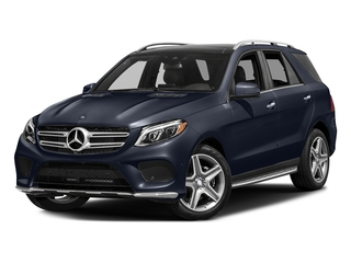 Lunar Blue Metallic 2017 Mercedes-Benz GLE Pictures GLE Utility 4D GLE400 AWD V6 photos front view