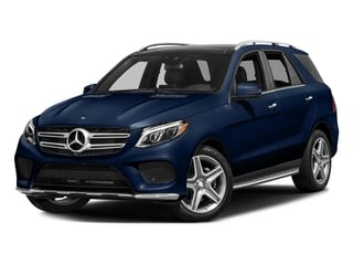 Brilliant Blue Metallic 2017 Mercedes-Benz GLE Pictures GLE Utility 4D GLE400 AWD V6 photos front view