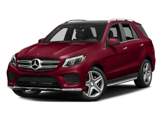 designo Cardinal Red Metallic 2017 Mercedes-Benz GLE Pictures GLE Utility 4D GLE400 AWD V6 photos front view