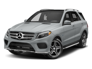 Iridium Silver Metallic 2017 Mercedes-Benz GLE Pictures GLE Utility 4D GLE550 Plug-In AWD V6 photos front view