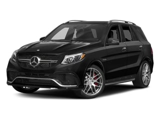 Obsidian Black Metallic 2017 Mercedes-Benz GLE Pictures GLE AMG GLE 63 4MATIC SUV photos front view