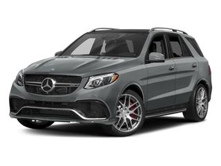 Iridium Silver Metallic 2017 Mercedes-Benz GLE Pictures GLE AMG GLE 63 4MATIC SUV photos front view