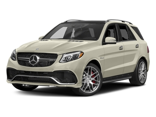 designo Diamond White Metallic 2017 Mercedes-Benz GLE Pictures GLE AMG GLE 63 4MATIC SUV photos front view