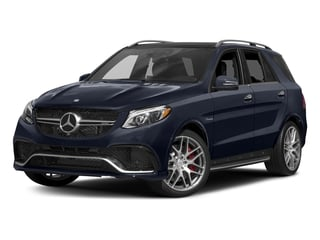 Lunar Blue Metallic 2017 Mercedes-Benz GLE Pictures GLE AMG GLE 63 4MATIC SUV photos front view