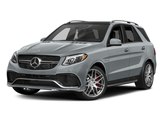 Diamond Silver Metallic 2017 Mercedes-Benz GLE Pictures GLE AMG GLE 63 4MATIC SUV photos front view