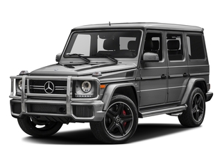 designo Graphite 2017 Mercedes-Benz G-Class Pictures G-Class AMG G 63 4MATIC SUV photos front view