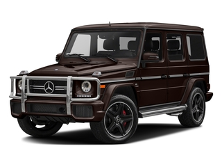 designo Mystic Brown 2017 Mercedes-Benz G-Class Pictures G-Class AMG G 63 4MATIC SUV photos front view