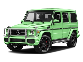 Alien Green 2017 Mercedes-Benz G-Class Pictures G-Class AMG G 63 4MATIC SUV photos front view