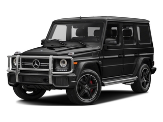 Obsidian Black Metallic 2017 Mercedes-Benz G-Class Pictures G-Class AMG G 63 4MATIC SUV photos front view