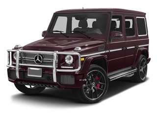 designo Mystic Red 2017 Mercedes-Benz G-Class Pictures G-Class 4 Door Utility 4Matic photos front view