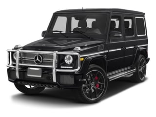 Black 2017 Mercedes-Benz G-Class Pictures G-Class 4 Door Utility 4Matic photos front view