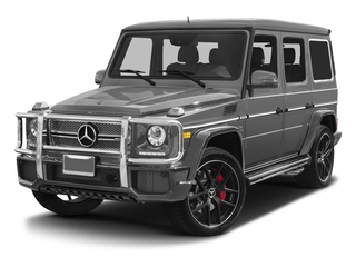 designo Monza Grey Magno (Matte Finish) 2017 Mercedes-Benz G-Class Pictures G-Class 4 Door Utility 4Matic photos front view