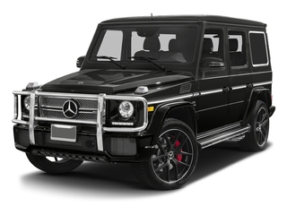 designo Magno Night Black (Matte Finish) 2017 Mercedes-Benz G-Class Pictures G-Class 4 Door Utility 4Matic photos front view
