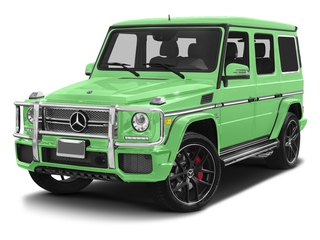 Alien Green 2017 Mercedes-Benz G-Class Pictures G-Class AMG G 65 4MATIC SUV photos front view