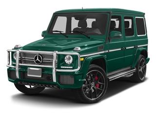 designo Olive Magno (Matte Finish) 2017 Mercedes-Benz G-Class Pictures G-Class 4 Door Utility 4Matic photos front view
