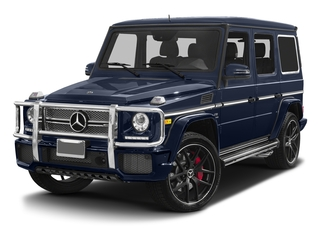 Midnight Blue 2017 Mercedes-Benz G-Class Pictures G-Class 4 Door Utility 4Matic photos front view