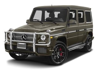 Indium Grey Metallic 2017 Mercedes-Benz G-Class Pictures G-Class AMG G 65 4MATIC SUV photos front view