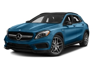 South Seas Blue Metallic 2017 Mercedes-Benz GLA Pictures GLA AMG GLA 45 4MATIC SUV photos front view