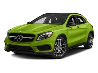 Kryptonite Green Metallic 2017 Mercedes-Benz GLA Pictures GLA Utility 4D GLA45 AMG AWD I4 Turbo photos front view