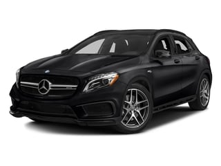 Cosmos Black Metallic 2017 Mercedes-Benz GLA Pictures GLA AMG GLA 45 4MATIC SUV photos front view
