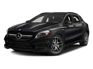 Night Black 2017 Mercedes-Benz GLA Pictures GLA AMG GLA 45 4MATIC SUV photos front view