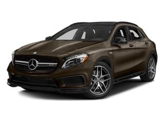 Cocoa Brown Metallic 2017 Mercedes-Benz GLA Pictures GLA Utility 4D GLA45 AMG AWD I4 Turbo photos front view