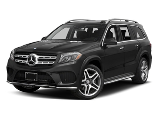 Steel Grey Metallic 2017 Mercedes-Benz GLS Pictures GLS Utility 4D GLS550 AWD V8 Turbo photos front view