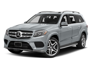 Diamond Silver Metallic 2017 Mercedes-Benz GLS Pictures GLS Utility 4D GLS550 AWD V8 Turbo photos front view