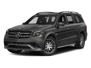 Steel Grey Metallic 2017 Mercedes-Benz GLS Pictures GLS Utility 4D GLS63 AMG AWD V8 Turbo photos front view