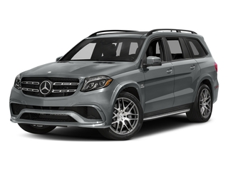 Iridium Silver Metallic 2017 Mercedes-Benz GLS Pictures GLS Utility 4D GLS63 AMG AWD V8 Turbo photos front view