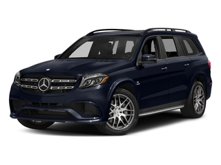 Lunar Blue Metallic 2017 Mercedes-Benz GLS Pictures GLS Utility 4D GLS63 AMG AWD V8 Turbo photos front view