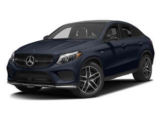 Lunar Blue Metallic 2017 Mercedes-Benz GLE Pictures GLE Utility 4D GLE43 AMG Sport Cpoe AWD photos front view