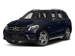 Lunar Blue Metallic 2017 Mercedes-Benz GLE Pictures GLE Utility 4D GLE43 AMG AWD V6 photos front view