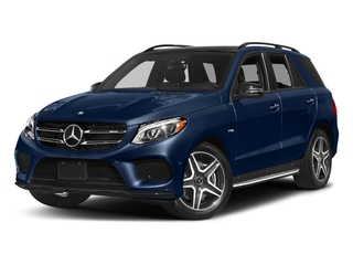 Brilliant Blue Metallic 2017 Mercedes-Benz GLE Pictures GLE Utility 4D GLE43 AMG AWD V6 photos front view