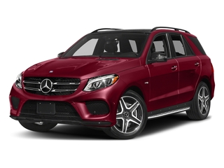 designo Cardinal Red Metallic 2017 Mercedes-Benz GLE Pictures GLE Utility 4D GLE43 AMG AWD V6 photos front view