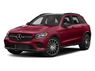 designo Cardinal Red Metallic 2017 Mercedes-Benz GLC Pictures GLC AMG GLC 43 4MATIC SUV photos front view