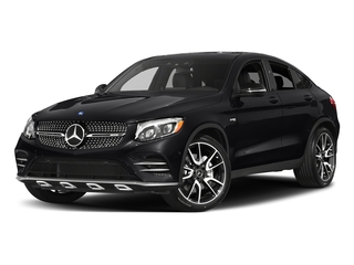 Black 2017 Mercedes-Benz GLC Pictures GLC Util 4D GLC43 AMG Sport Coupe AWD V6 photos front view