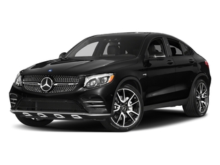Obsidian Black Metallic 2017 Mercedes-Benz GLC Pictures GLC Util 4D GLC43 AMG Sport Coupe AWD V6 photos front view