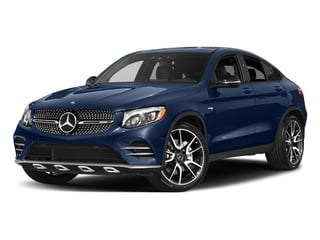 Brilliant Blue Metallic 2017 Mercedes-Benz GLC Pictures GLC Util 4D GLC43 AMG Sport Coupe AWD V6 photos front view