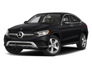 Black 2017 Mercedes-Benz GLC Pictures GLC Util 4D GLC300 Sport Coupe AWD I4 photos front view