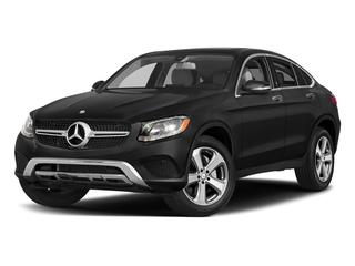 Obsidian Black Metallic 2017 Mercedes-Benz GLC Pictures GLC Util 4D GLC300 Sport Coupe AWD I4 photos front view