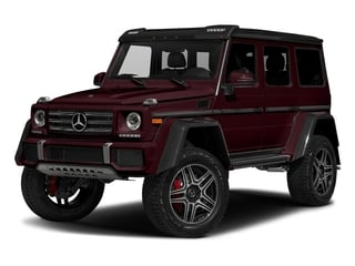 designo Mystic Red 2017 Mercedes-Benz G-Class Pictures G-Class G 550 4x4 Squared SUV photos front view