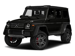 designo Magno Night Black (Matte Finish) 2017 Mercedes-Benz G-Class Pictures G-Class G 550 4x4 Squared SUV photos front view