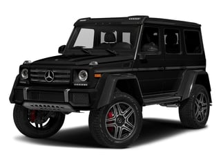 Magnetite Black Metallic 2017 Mercedes-Benz G-Class Pictures G-Class G 550 4x4 Squared SUV photos front view