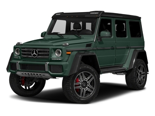 Jade Green Metallic 2017 Mercedes-Benz G-Class Pictures G-Class G 550 4x4 Squared SUV photos front view
